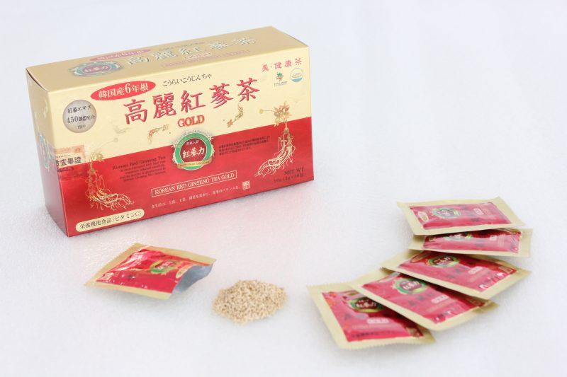 高麗紅参茶GOLD