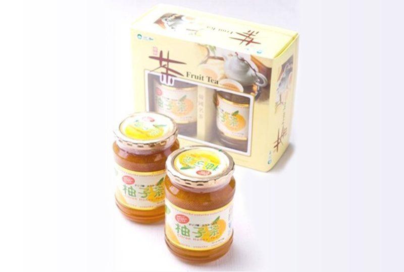 蜂蜜・オリゴ糖入り 柚子茶580g